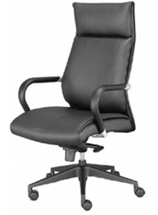 OCISitwell High-Back Leather Executive Ch..