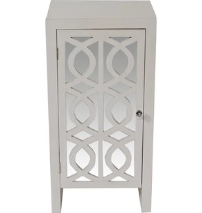 Cabinet with Mirror Accent Cabinet by Heather Ann Creations