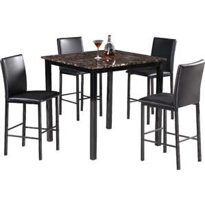 5 Piece Counter Height Dining Set by Best Qualit..