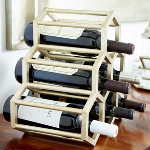 Hex Hut 6 Bottle Tabletop Wine Rack
