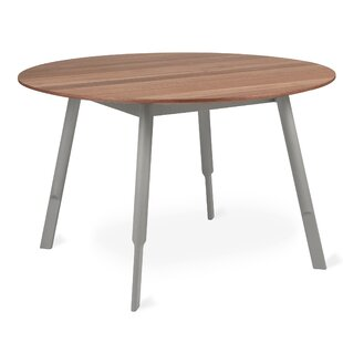 Bracket Round Solid Wood Dining Table Gus* Modern
