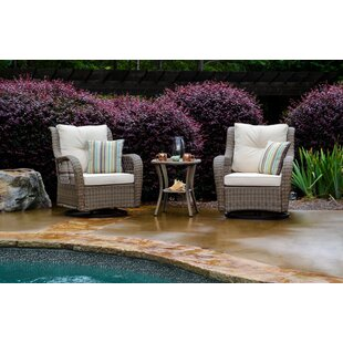 Dawn 3 Piece Seating Group With Cushions by Highland Dunes Read Reviews