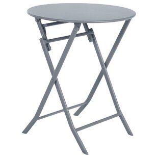 Nifleim Folding Steel Bistro Table By Sol 72 Outdoor