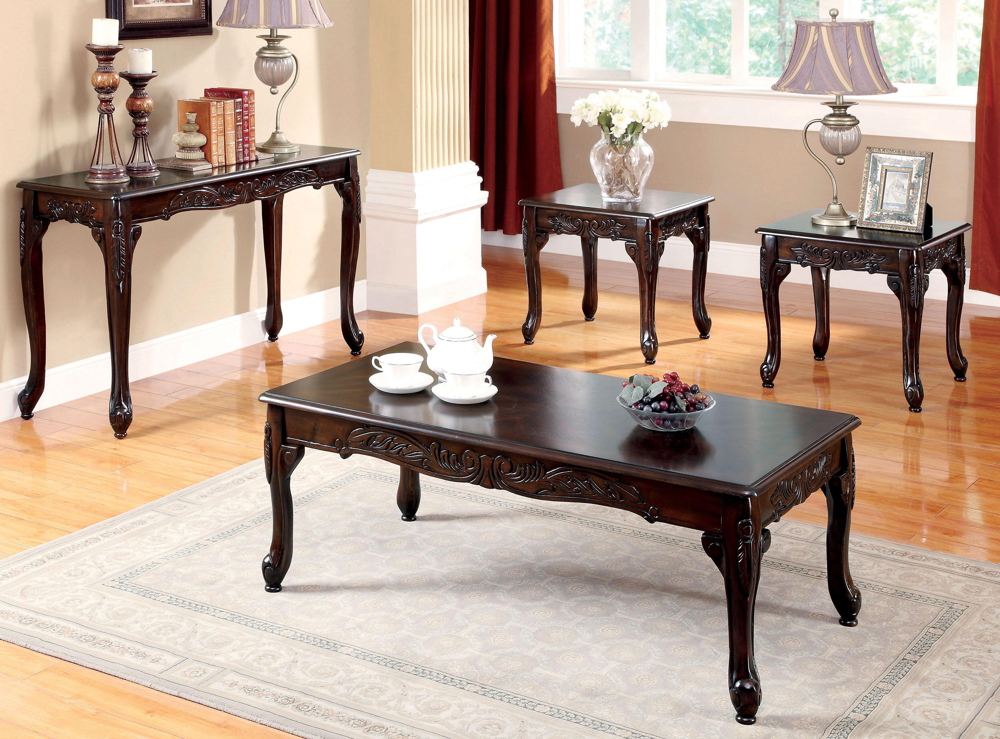 Astoria Grand Walther 4 Piece Coffee Table Set Reviews Wayfair