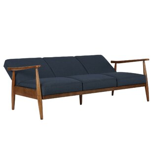 Jermaine Mid-Century Modern Convertible Sofa