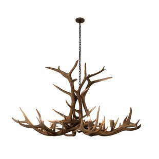 Loon Peak Scruggs Elk 8-Light ..