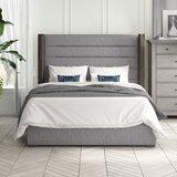O'brien Upholstered Standard Bed by Brayden Studio®