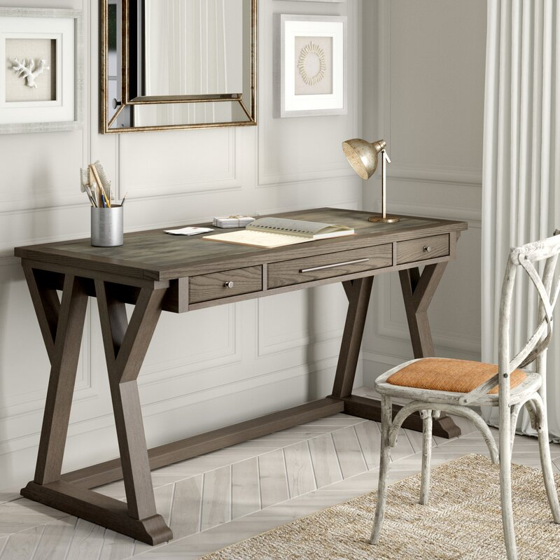 Three Posts Kass Desk & Reviews | Wayfair