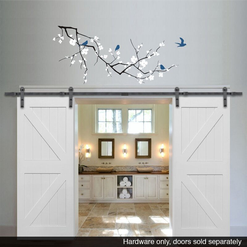 Double Barn Door Hardware Wayfair