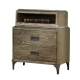 Sevier 2 Drawer Nightstand by 17 Stories