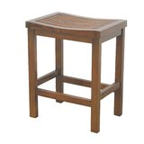 Yuliya Slatted 23.5 Bar Stool by Union Rustic