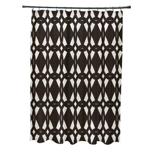 Auden Geo-Craze Geometric Print Single Shower Curtain