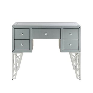 Everly Quinn Nash 5 Drawer Console Table
