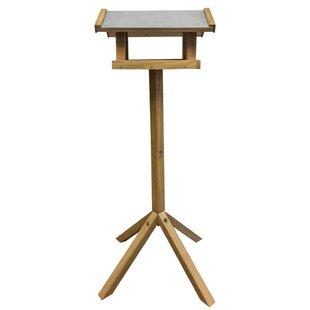 Isidora Design Bird Table Rectangular Steel Roof Image
