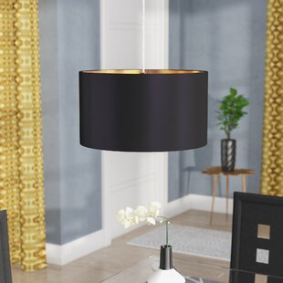 Best Price Newville 1-Light Pendant By Wade Logan