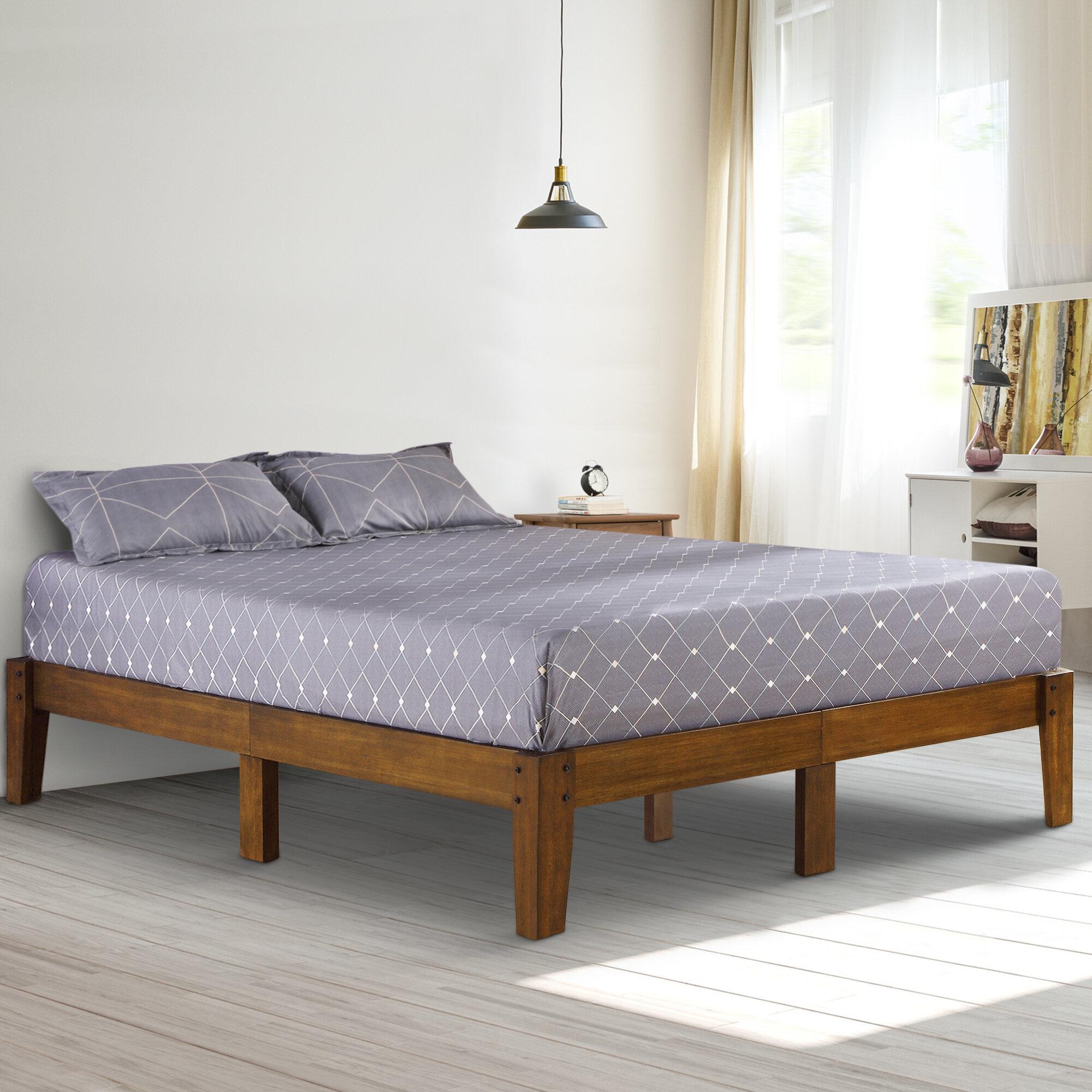 Queen Size Ebern Designs Platform Beds You Ll Love In 2021 Wayfair
