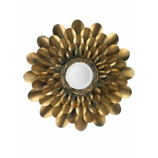 Bloomsbury Market Minerville Bouquet Accent Mirror