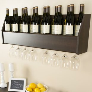 Zipcode Design Klatt 18 Bottle Wall Mounted Wine Rack