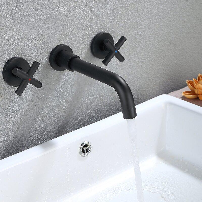 Dilon Wall Mounted Bathroom Faucet Wayfair