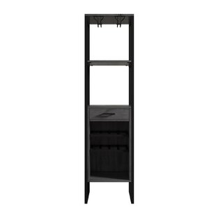 Delapaz 8 Bottle Wine Cabinet