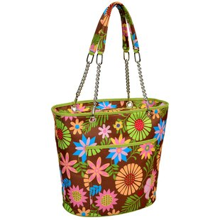 22 Can Floral Insulated Fashion Tote Cooler