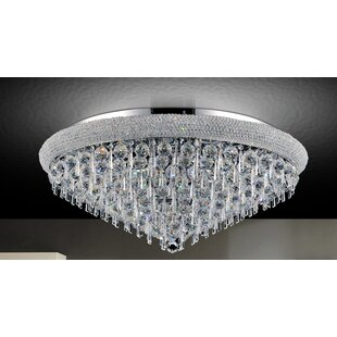 CWI Lighting Kingdom 18-Light Flush Mount
