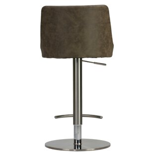 Seneca Adjustable Height Swivel Bar Stool Mercer41