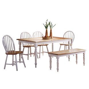 Berene 6 Piece Dining Set August Grove