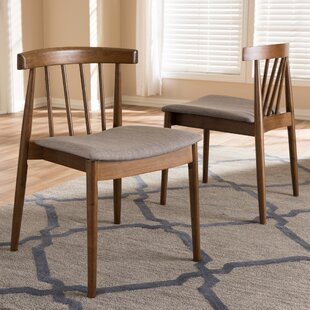 Westberry Solid Wood Dining Chair (Set of 2) George Oliver