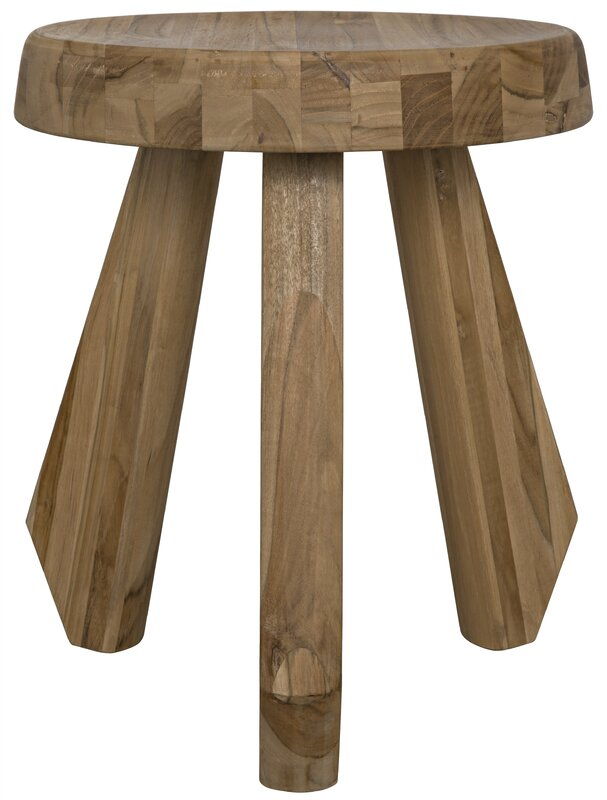 Priam Teak Accent Stool