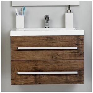 Belfry Bathroom 60 cm Wandbefestigter Waschbecke..