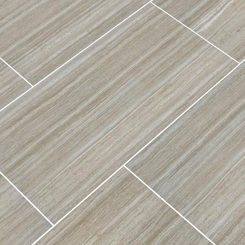 Msi Charisma 12 X 24 Ceramic Field Tile In Silver Wayfair
