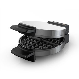 Traditional Belgian-Style Stainless Steel Belgian Waffle Maker