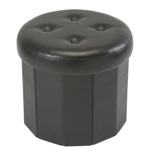 Lindsey Collapsible Storage Ottoman by Winston Porter