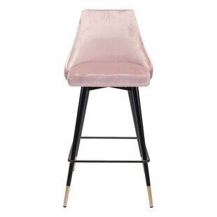 Colchester 25.6 Bar Stool Everly Quinn