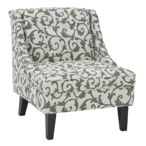 Eleanora Slipper Chair by Alcott Hill