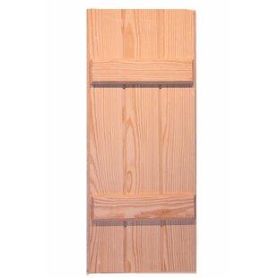 Board And Batten Pine Shutter Single By Shutters By Design