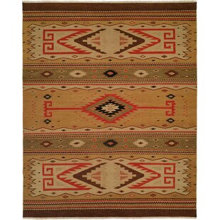 Metro Hand-Woven Beige/Brown Area Rug by Wildon Home?