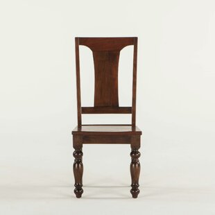 Musson Solid Wood Dining Chair (Set of 2) Charlton Home