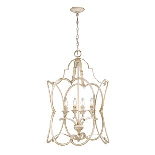 Bungalow Rose Sheri 4-Light Novelty Pendant