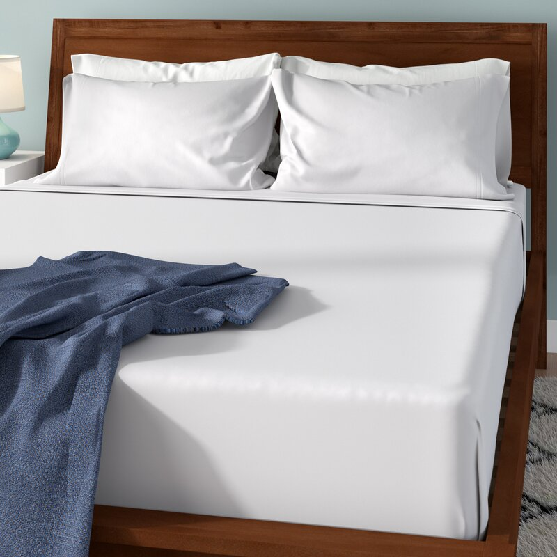 Heckson Soft Washed 200 Thread Count 100 Cotton Sheet Set Reviews Wayfair