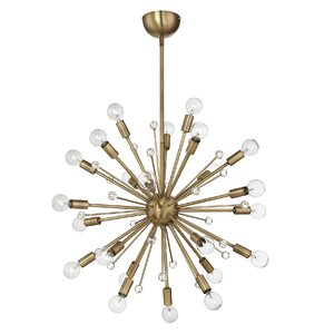 Corvus 24-Light Sputnik Chandelier