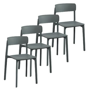 Iva Dining Chair (Set of 4) Wrought Studio