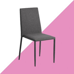 Weatherly Armless Stacking Upholstered Dining Chair (Set Of 4) By Hashtag Home