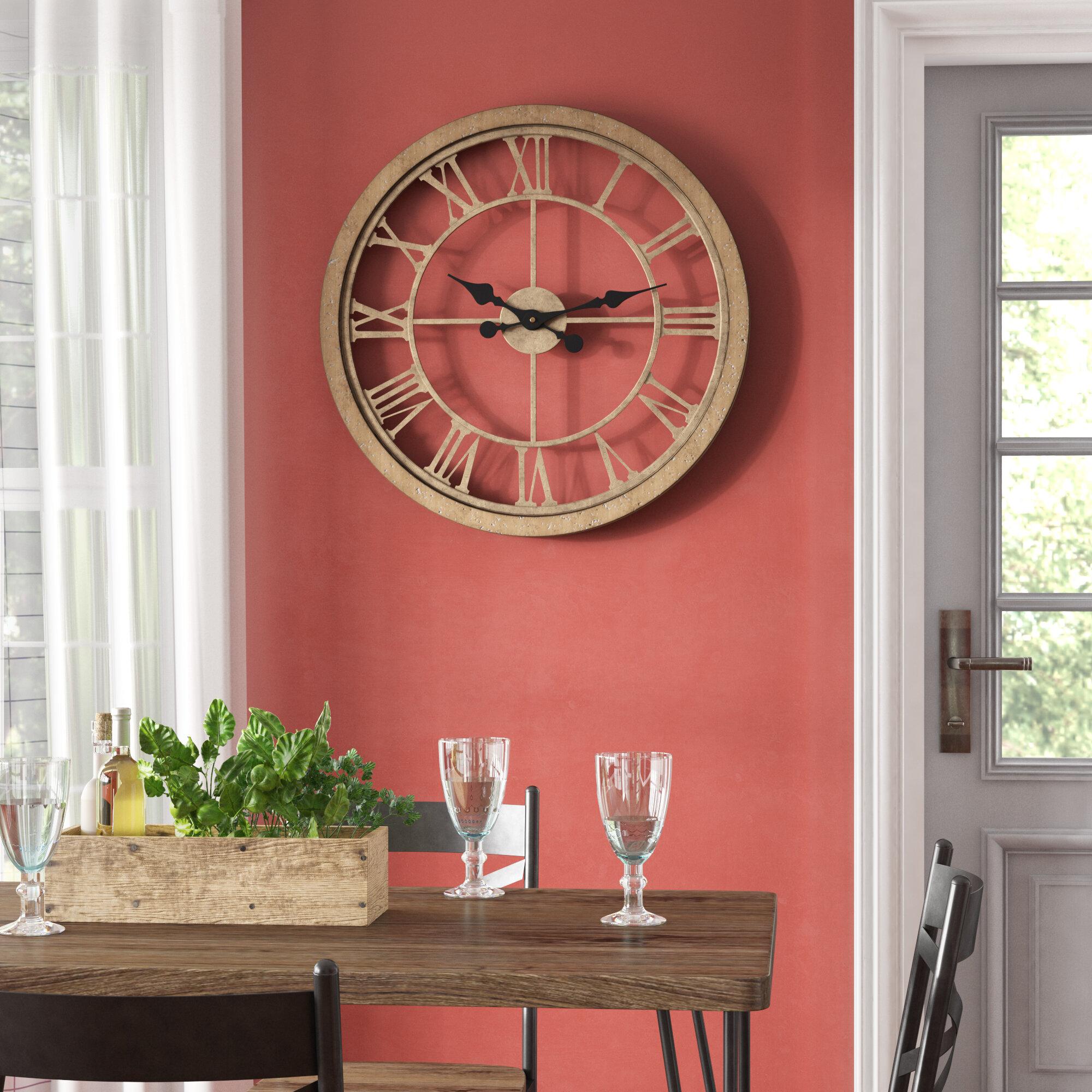 Farmhouse & Rustic Wall Clocks | Birch Lane