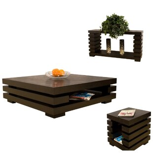 Gigi 3 Piece Coffee Table Set