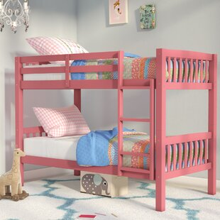 Affordable Nicholson Twin over Twin Bunk Bed by Harriet Bee Reviews (2019) & Buyer's Guide