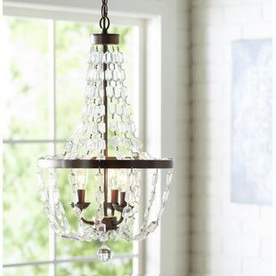 Katy 3-Light Empire Chandelier