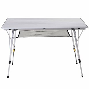 Samee Folding Aluminium Camping Table By Sol 72 Outdoor