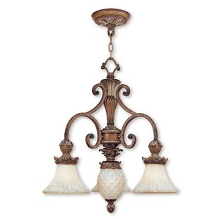 Scotland Traditional 4-Light Shaded Chandelier by Astoria Grand